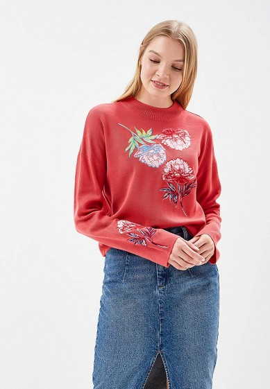 Джемпер LOST INK FLORAL EMBROIDED CO-ORD JUMPER