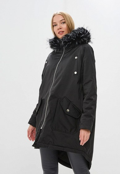 LOST INK Куртка утепленная OVERSIZED ZIP BACK PARKA