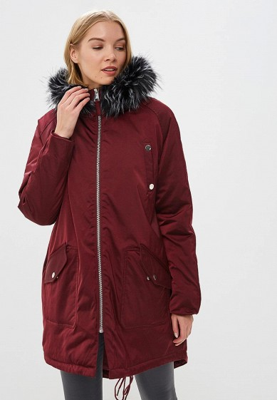 Куртка утепленная LOST INK OVERSIZED ZIP BACK PARKA