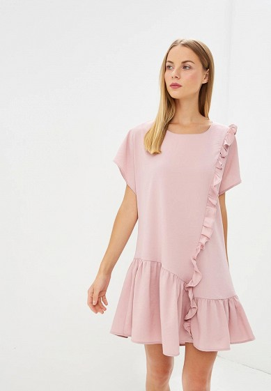 Платье LOST INK Frill Front & Hem Shift Dress