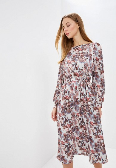 Платье LOST INK LUXE FLORAL MIDI DRESS