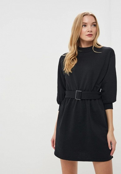 Платье LOST INK SWEAT DRESS WITH BELTED WAIST