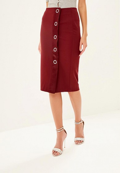 Юбка LOST INK EYELET DETAIL PENCIL SKIRT