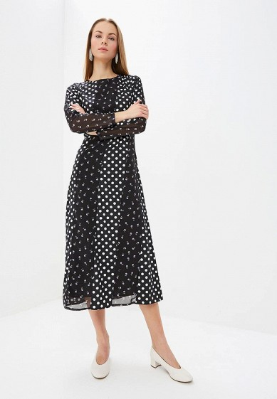 Платье LOST INK PANELLED MIX PRINT COLUMN DRESS