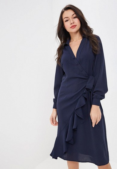 Платье LOST INK WRAP SHIRT DRESS WITH ASYM PLACKET