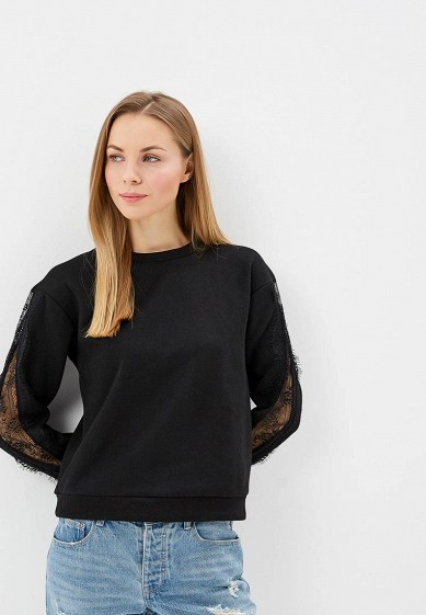 Свитшот LOST INK SWEAT WITH LACE INSERT