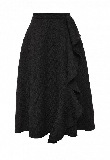 Юбка LOST INK TEXTURED FRILL MIDI SKIRT