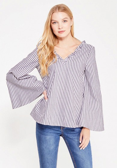 Блуза LOST INK STRIPED FLARED SLEEVE TOP