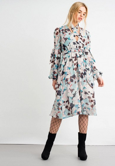 Платье LOST INK BIG SLEEP FLORAL PRINT