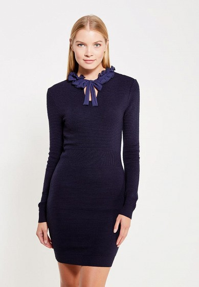 Платье LOST INK RUFFLE WOVEN NECK DRESS