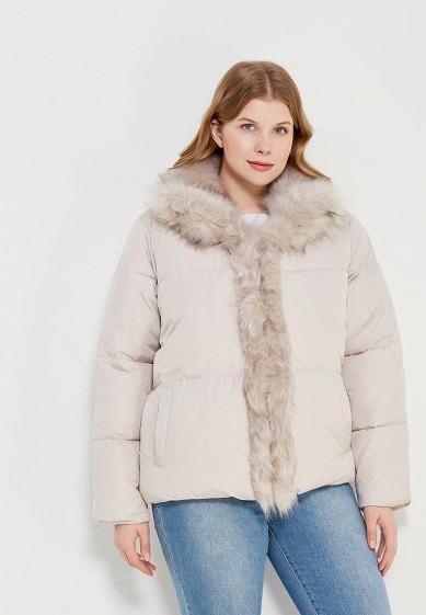 62ec928300e5b Куртка утепленная LOST INK PLUS PADDED JACKET WITH FAUX FUR TRIM купить за  3 840 руб LO019EWZOR34 в интернет-магазине Lamoda.ru