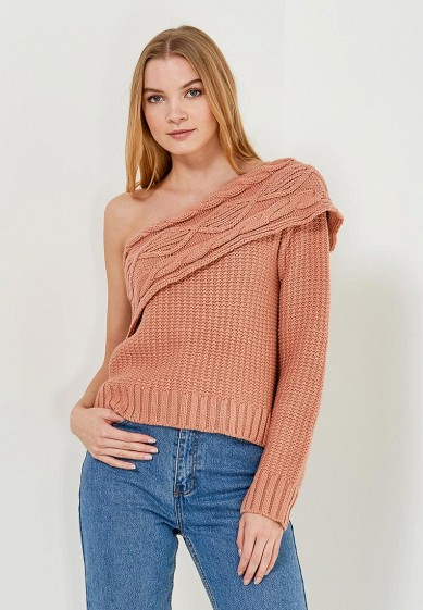 Джемпер LOST INK ONE SHOULDER CABLE JUMPER W/O SLEEVE