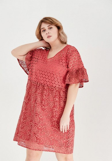 Платье LOST INK PLUS SMOCK DRESS IN MIXED LACE
