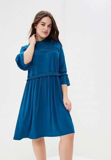 Платье LOST INK PLUS SKATER DRESS WITH DOUBLE FRILL
