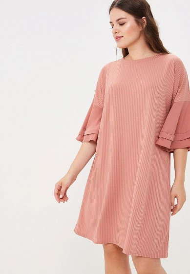 Платье LOST INK PLUS SWING DRESS WITH WOVEN SLEEVES