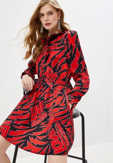 Платье Love Moschino за 40 400 ₽. в интернет-магазине Lamoda.ru