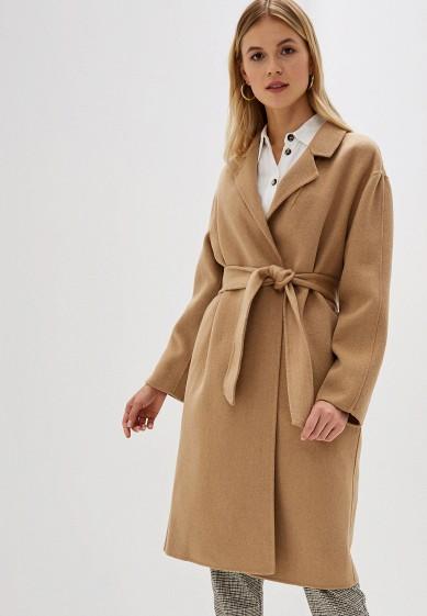 Пальто, Mango, цвет: бежевый. Артикул: MA002EWGDDJ6. Одежда / Верхняя одежда / Пальто