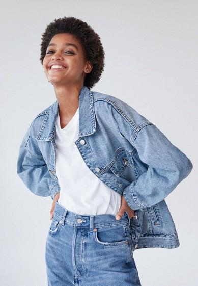 Куртка джинсовая Mango - SEUL за 3 299 ₽. в интернет-магазине Lamoda.ru
