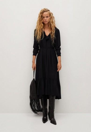 Платье Mango - NOIR за 6 499 ₽. в интернет-магазине Lamoda.ru