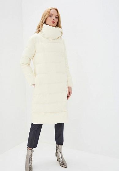 Пуховик, Max&Co, цвет: белый. Артикул: MA111EWBYAA5. Premium / Одежда / Верхняя одежда