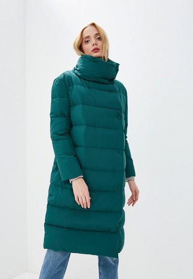 Пуховик, Max&Co, цвет: зеленый. Артикул: MA111EWBYAA6. Premium / Одежда / Верхняя одежда
