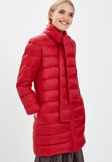 Пуховик, Max&Co, цвет: красный. Артикул: MA111EWBYAA9. Premium / Одежда / Верхняя одежда