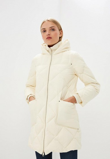 Пуховик, Max&Co, цвет: белый. Артикул: MA111EWBYAB2. Premium / Одежда / Верхняя одежда