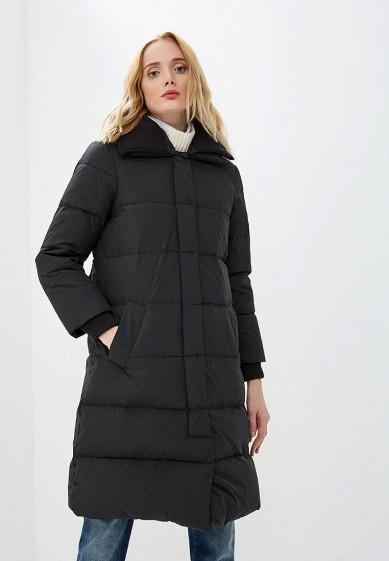 Пуховик, Max&Co, цвет: черный. Артикул: MA111EWBYAC0. Premium / Одежда / Верхняя одежда