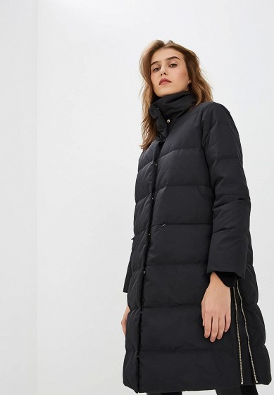 Пуховик, Max&Co, цвет: черный. Артикул: MA111EWBYAL3. Premium / Одежда / Верхняя одежда