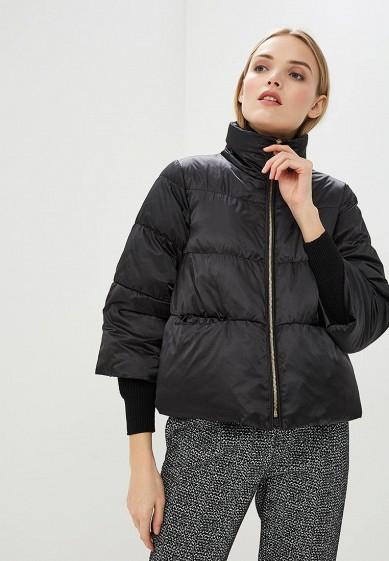 Пуховик, Max&Co, цвет: черный. Артикул: MA111EWDQQQ4. Premium / Одежда / Верхняя одежда
