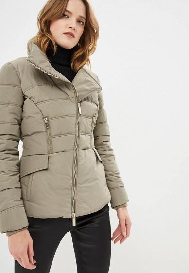 Куртка утепленная, Marciano Los Angeles, цвет: хаки. Артикул: MA176EWCFOP0. Premium / Одежда / Верхняя одежда