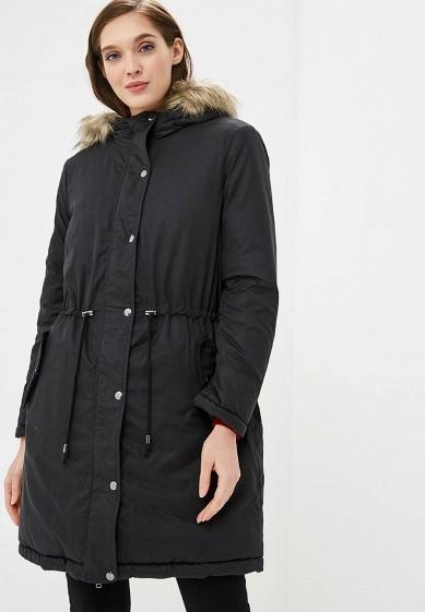 Парка, Marks & Spencer, цвет: хаки, черный. Артикул: MA178EWCLZK3. Одежда / Верхняя одежда / Парки