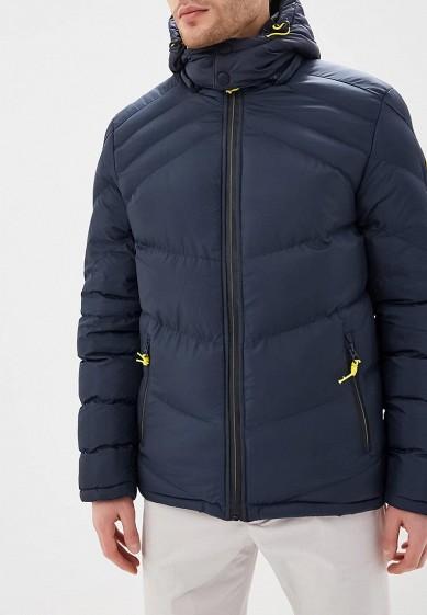 Куртка утепленная, MeZaGuz, цвет: синий. Артикул: ME004EMCDID5. Одежда / Верхняя одежда / Пуховики и зимние куртки