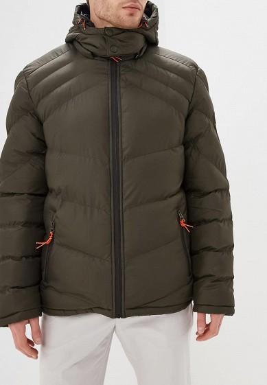 Куртка утепленная, MeZaGuz, цвет: хаки. Артикул: ME004EMCDIH8. Одежда / Верхняя одежда / Пуховики и зимние куртки