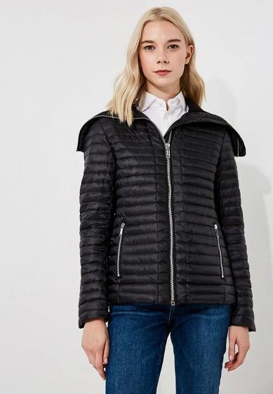 Куртка утепленная, Michael Michael Kors, цвет: черный. Артикул: MI048EWBQLZ9. Premium / Одежда / Верхняя одежда