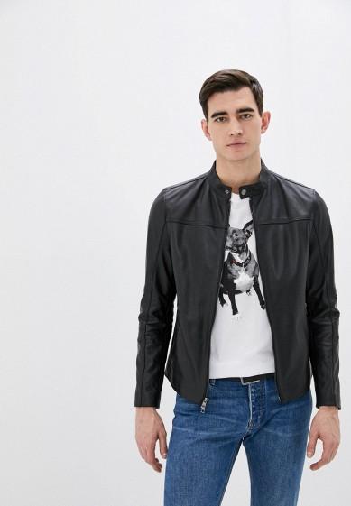 Куртка кожаная Michael Kors за 42 300 ₽. в интернет-магазине Lamoda.ru
