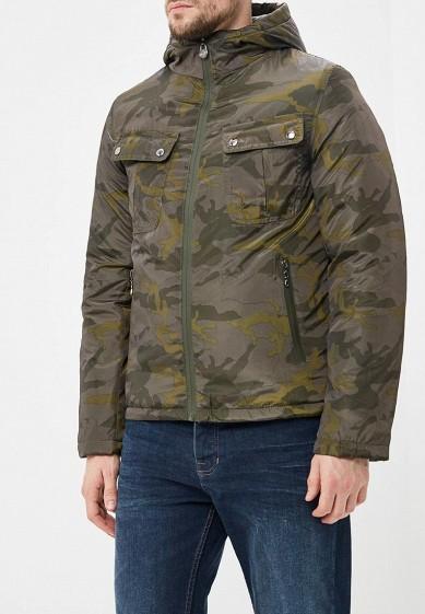 Куртка утепленная, M&2, цвет: хаки. Артикул: MN001EMCQXS5. Одежда / Верхняя одежда