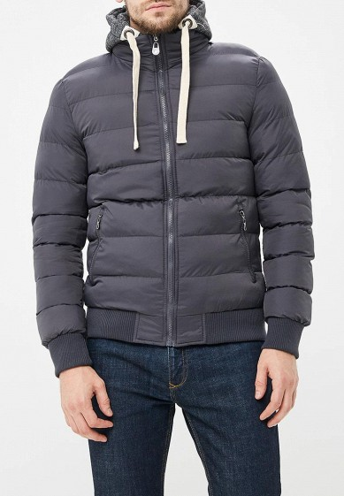Куртка утепленная, M&2, цвет: серый. Артикул: MN001EMCQXS8. Одежда / Верхняя одежда
