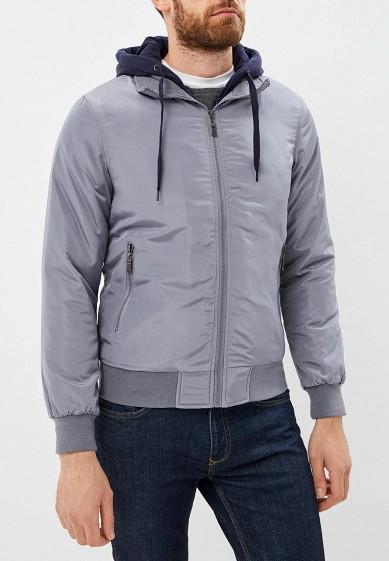 Куртка утепленная, M&2, цвет: серый. Артикул: MN001EMCQXT7. Одежда / Верхняя одежда