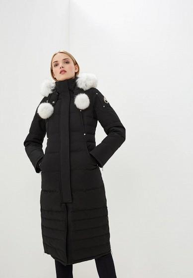 Пуховик, Moose Knuckles, цвет: черный. Артикул: MO041EWCSNW8. Premium / Одежда / Верхняя одежда