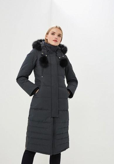 Пуховик, Moose Knuckles, цвет: серый. Артикул: MO041EWCSNW9. Premium / Одежда / Верхняя одежда