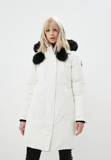 Пуховик, Moose Knuckles, цвет: белый. Артикул: MO041EWCSNX2. Premium / Одежда / Верхняя одежда