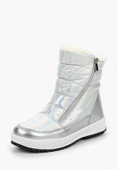 Дутики, Mon Ami, цвет: серебряный. Артикул: MO151AWDKBR8. Обувь