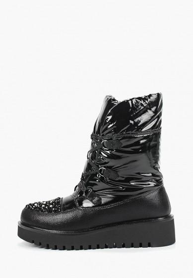 Дутики, Mon Ami, цвет: черный. Артикул: MO151AWDXYA1. Обувь