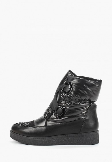 Дутики, Mon Ami, цвет: черный. Артикул: MO151AWDXYA3. Обувь