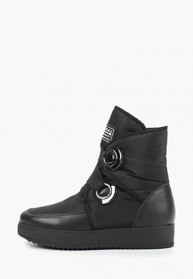 Дутики, Mon Ami, цвет: черный. Артикул: MO151AWDXYA4. Обувь