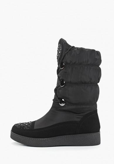 Дутики, Mon Ami, цвет: черный. Артикул: MO151AWDXYA6. Обувь