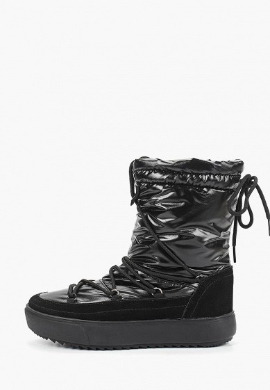 Дутики, Mon Ami, цвет: черный. Артикул: MO151AWDXYA8. Обувь