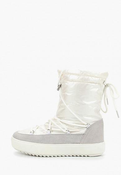 Дутики, Mon Ami, цвет: белый. Артикул: MO151AWDXYA9. Обувь