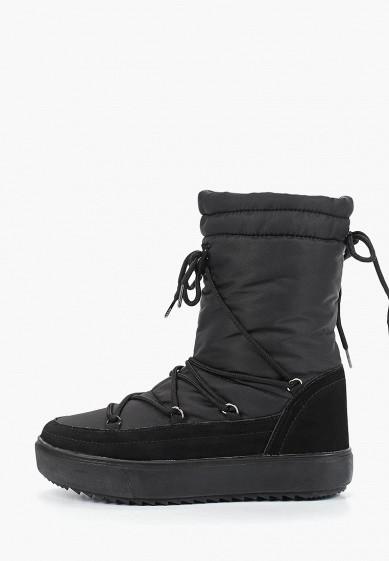 Дутики, Mon Ami, цвет: черный. Артикул: MO151AWDXYB0. Обувь
